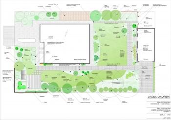 Projekt ogrodu Kobyłka